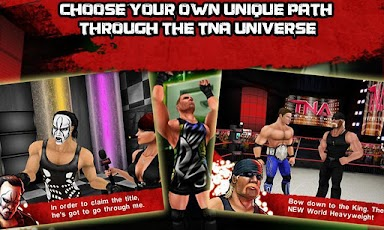 بازی زیبای کشتی کج TNA Wrestling iMPACT v1.0.2