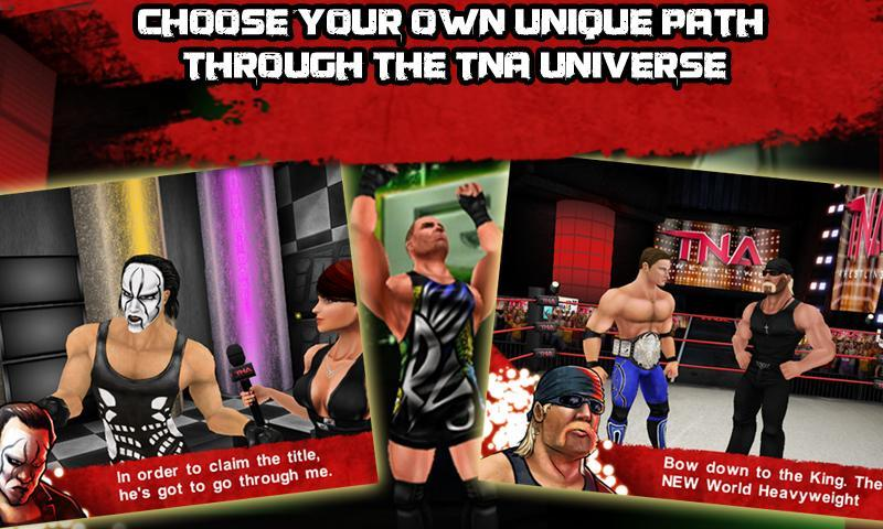 TNA Wrestling iMPACT! - screenshot
