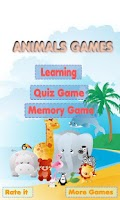 Screenshot of Animals Learning Game for Kids
