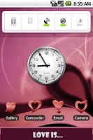 Screenshot of aHome Theme: Love Is (Cherry)