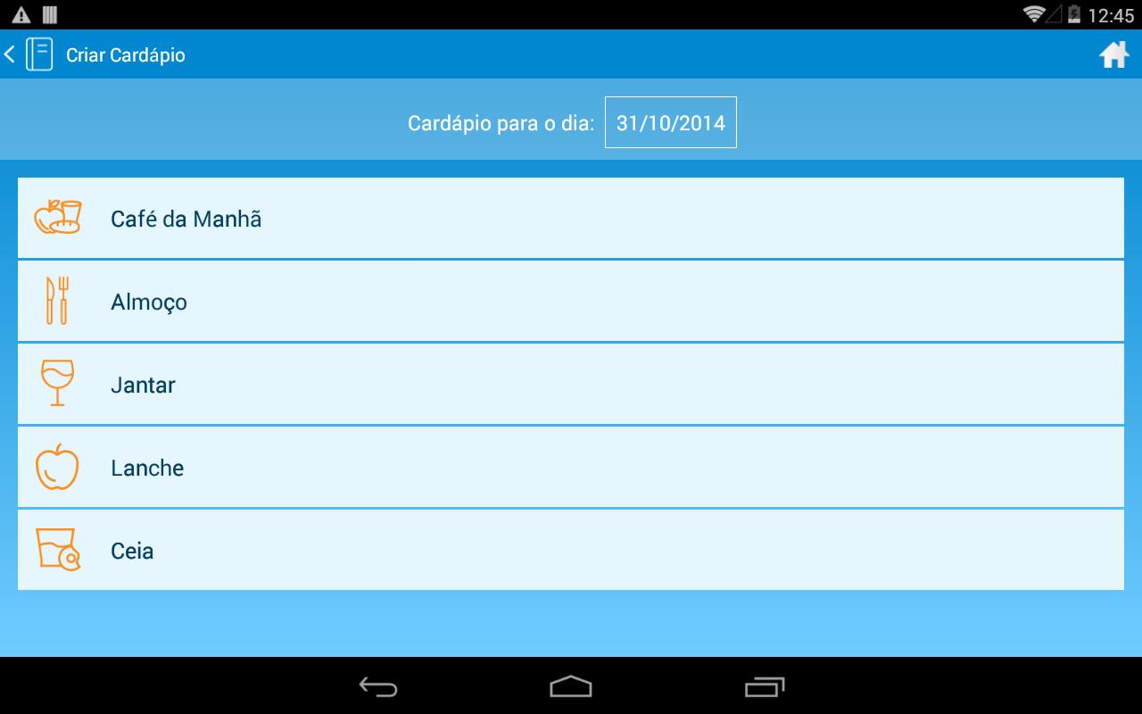 Nutrieduc - Dieta dos Pontos - screenshot