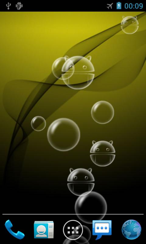 Bubble Pro Live Wallpaper - screenshot