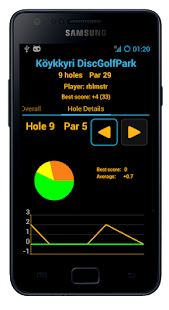 Disc Caddy 2 - Disc Golf app - screenshot thumbnail