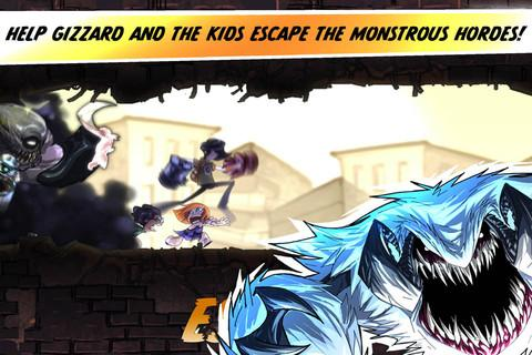 Escape from Age of Monsters- screenshot