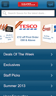 Savoo - The voucher finder- screenshot thumbnail