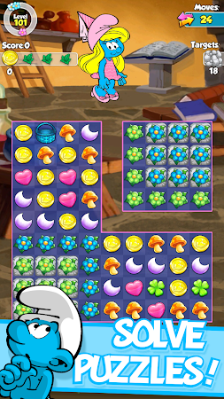 Smurfette's Magic Match 1.3.0 screenshot 58640