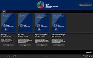 Screenshot of CIP PADE