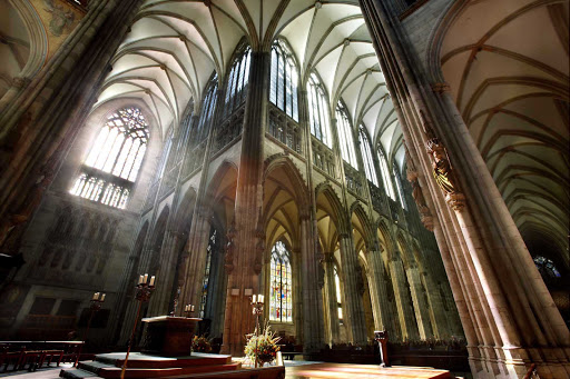 Germany-inside-Cologne-Cathedral - Inside Cologne Cathedral in Germany.