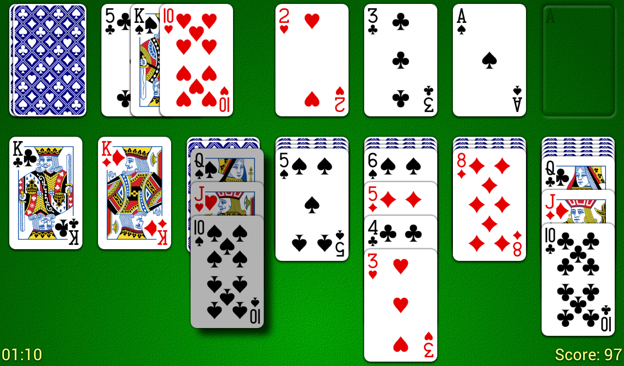 Odesys Solitaire - screenshot