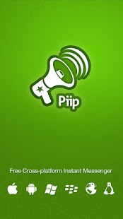 Piip Messenger- screenshot thumbnail
