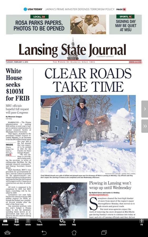 Lansing State Journal Print - Android Apps on Google Play