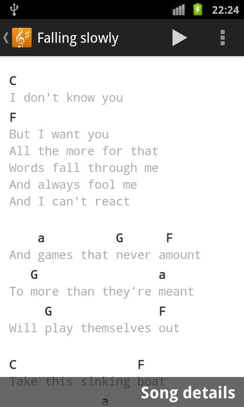 Song Book- screenshot