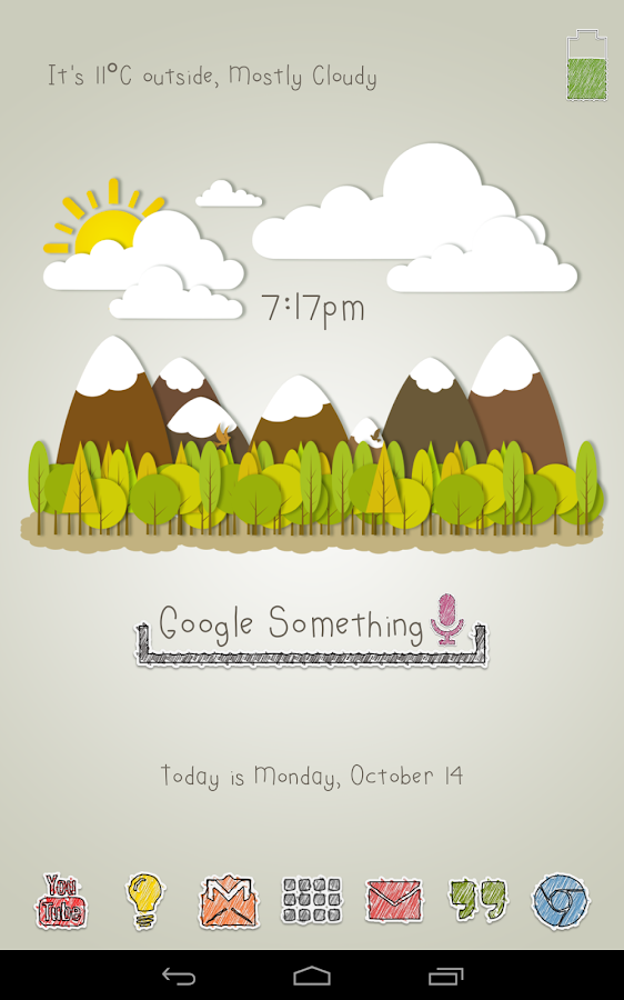 Diddly for Zooper Widget Pro - screenshot