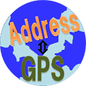 GPS Coordinates and Address icon