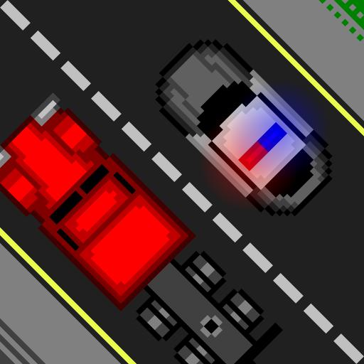 动作のCop Car LOGO-記事Game