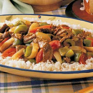 Curry Beef Stir-Fry.