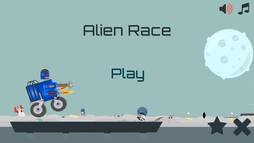 Alien Planet Curiosity Race