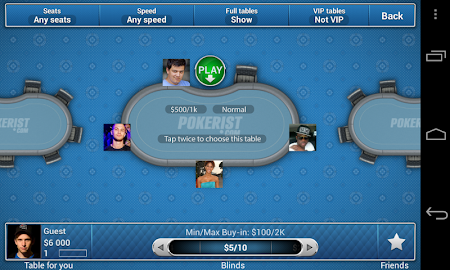 Pokerist for Tango 5.4.21 screenshot 1938