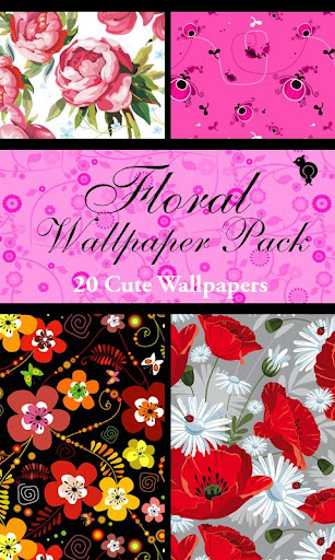 Free Floral Wallpaper Pack