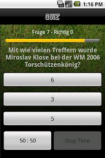FussballQuiz- screenshot thumbnail