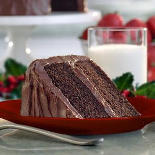 Daisy Brand Sour Cream Chocolate Cake.