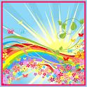 Rainbow Sun Live Wallpaper icon