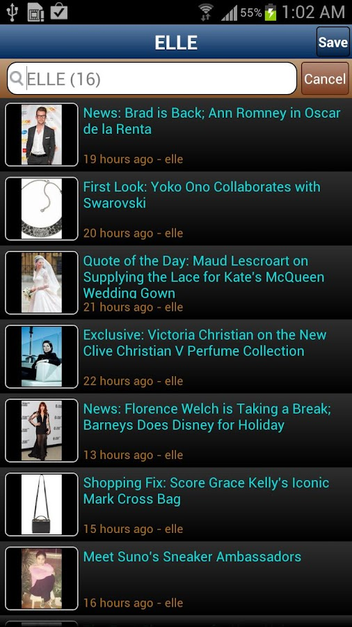 inoGossip Celebrity Gossip- screenshot