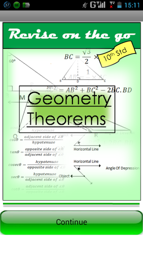 Revise SSC Geometry Theorems
