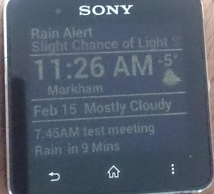Augmented SmartWatch Pro- screenshot
