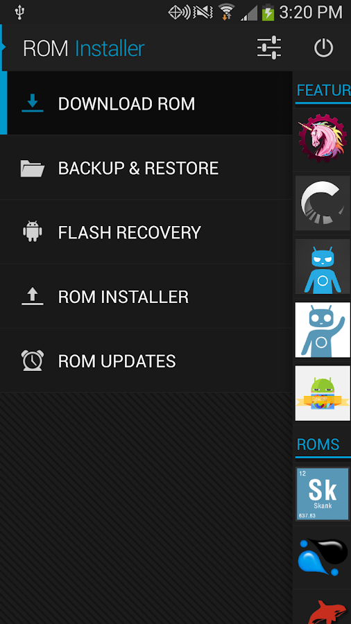 ROM Installer - screenshot