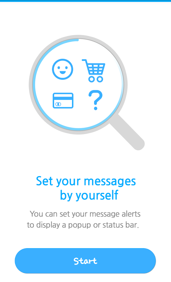 Message Box -Classify your SMS- screenshot