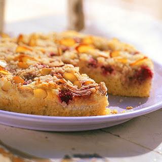 Raspberry-Almond Crumb Cake