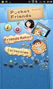 Pocket Friends (Cute widget)- screenshot thumbnail