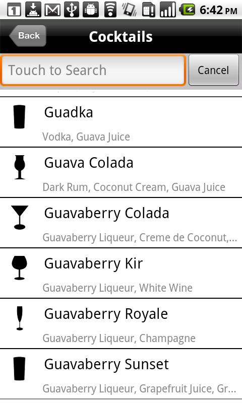 Mixologist™ Drink Recipes - screenshot