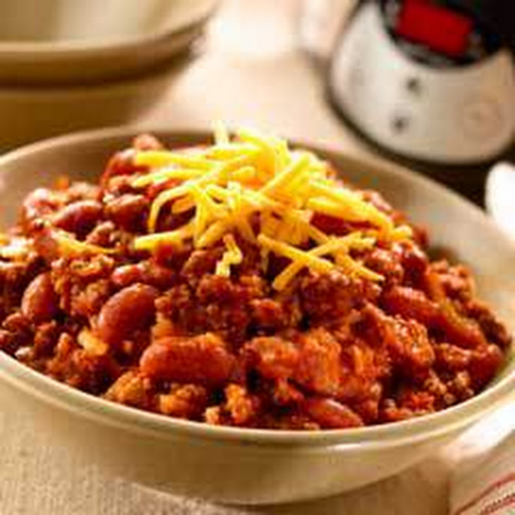 Super Easy Slow-Cooked Chili Recipe