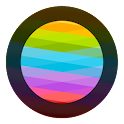 Blurred Circled Icons HD icon