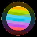 Blurred Circled Icons HD