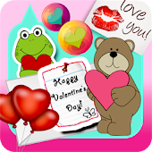 Sticker Pocket Love Valentine