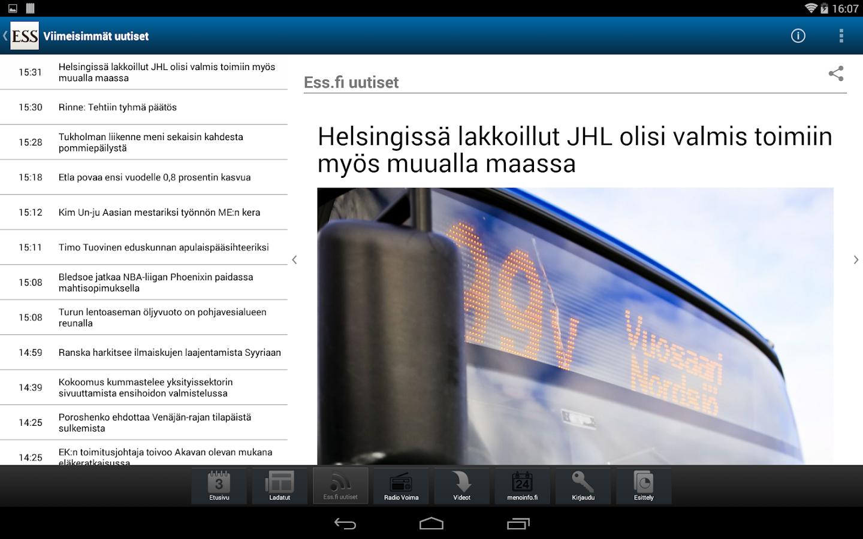 ESS Digilehti - screenshot