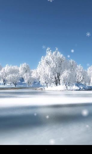 Snow Season Live Wallpaper