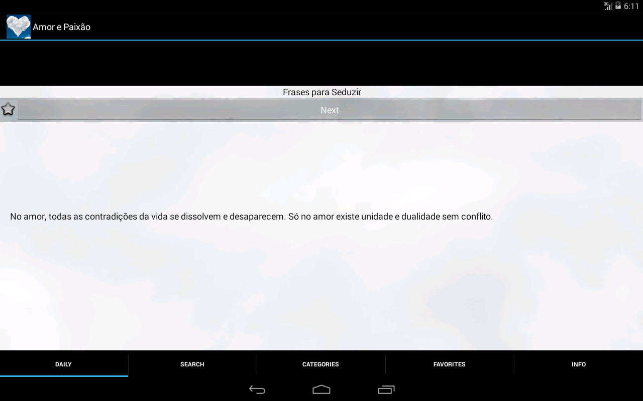 Frases de Amor e Paixão - screenshot