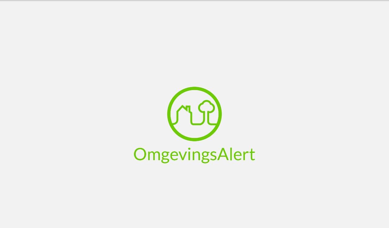 OmgevingsAlert- screenshot