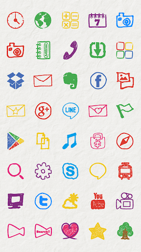 玩免費個人化APP|下載CRAYON Icon app不用錢|硬是要APP
