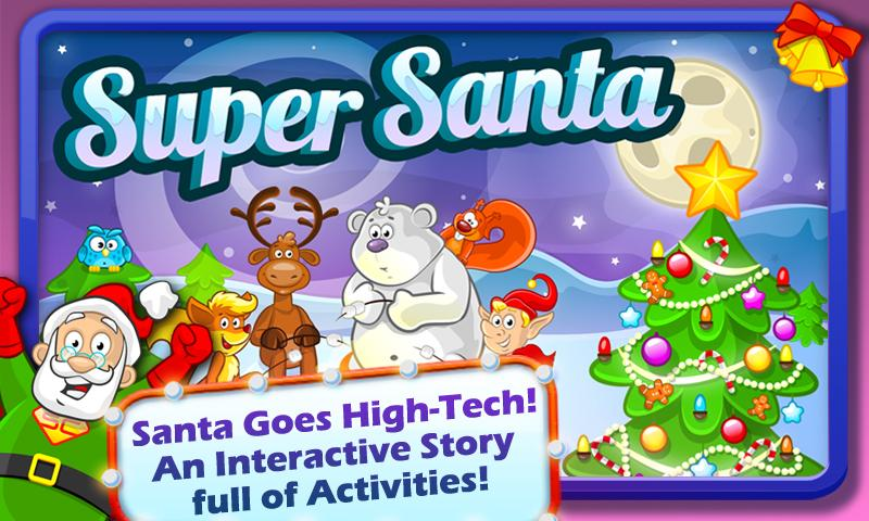 Super Santa XMAS Story & Games- screenshot