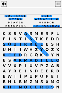 Simple Word Search- screenshot thumbnail