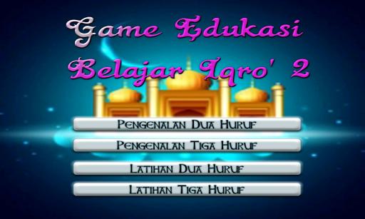 Game Edukasi Belajar Iqro 2