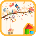 autumn leaves Dodol Theme icon