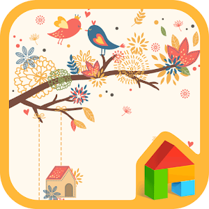 autumn leaves Dodol Theme apk