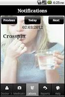 Screenshot of iMedication