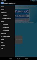 Screenshot of Dynamic Keyboard - Pro